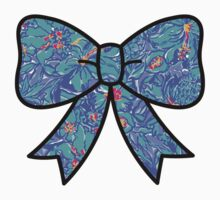 Lilly Pulitzer Inspired Bow Mai Tai Kids Clothes