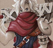 Toned Paper Cloud Strife by mishy-belle