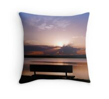 When God Rests....... Throw Pillow