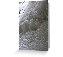 Twelve Shades of White Greeting Card
