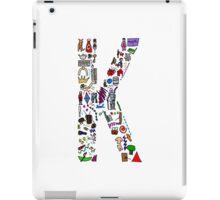 BS ABC's: K iPad Case/Skin