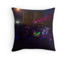 LIGHT SHOW 2 Throw Pillow