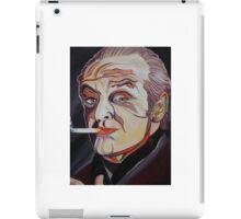 Jack Nicholson Portrait iPad Case/Skin