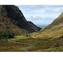 Gap of Dunloe - Killarney, Kerry, Ireland Photographic Print