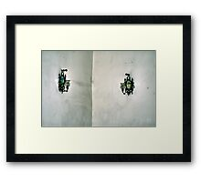 Sconces in the Corner Framed Print