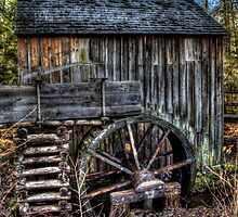 Cades Cove Mill by Terence Russell