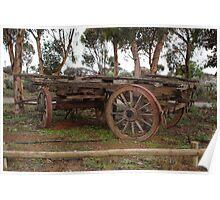 Vintage Wagon Poster