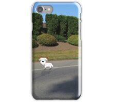 8 Bit Goat, In a High-Def World iPhone Case/Skin
