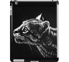 Ocelot Scratchboard iPad Case/Skin