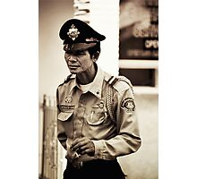 Security Photographic Print