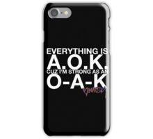 """Watsky Lyric #6"" iPhone Case/Skin"