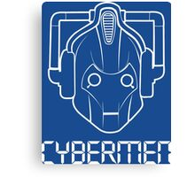 Doctor Who Cybermen Canvas Print