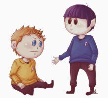 Kirk & Spock by MaliceZz