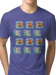 more sleepy forest babies Tri-blend T-Shirt