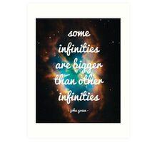 Infinites Art Print