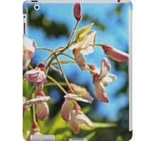 Pink Flowers in the Light iPad Case/Skin