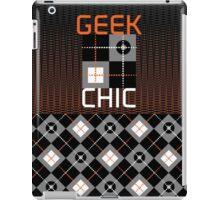 geek chic iPad Case/Skin