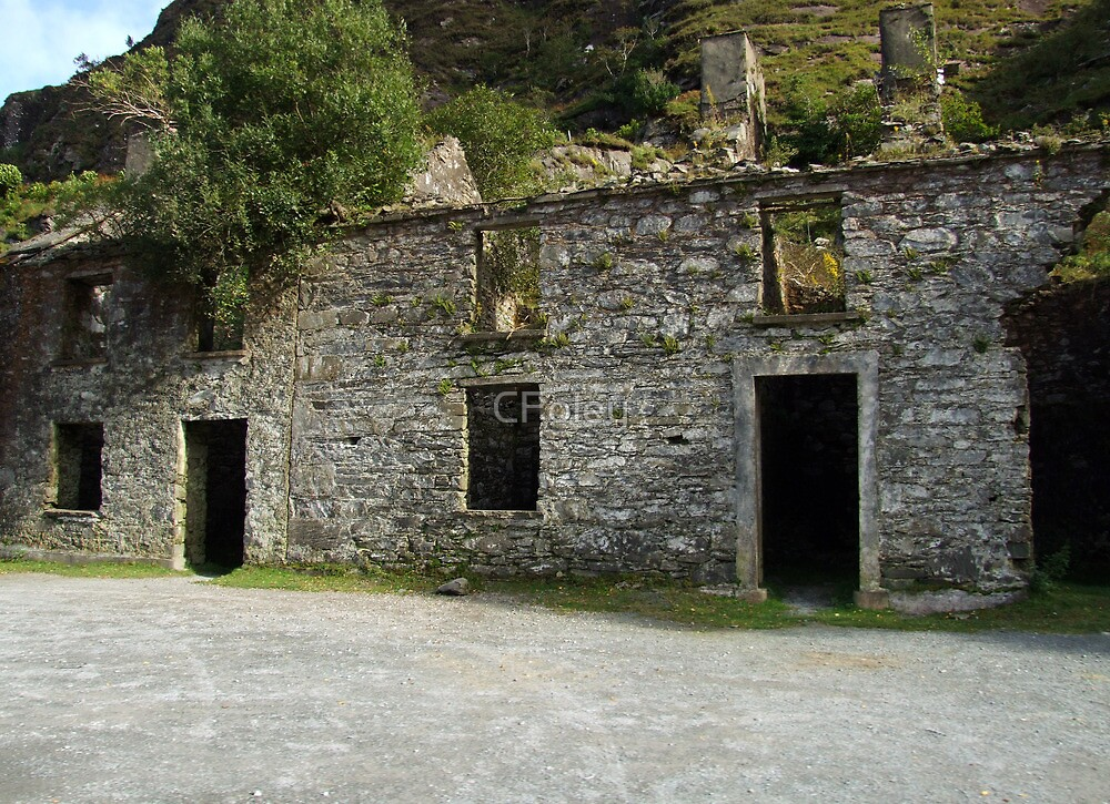 Ruin at the Gap of Dunloe - Killarney, Kerry, Ireland by CFoley