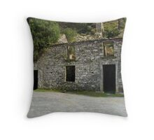 Ruin at the Gap of Dunloe - Killarney, Kerry, Ireland Throw Pillow