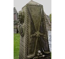 St Andrews Cathedral graveyard, Scotland Photographic Print