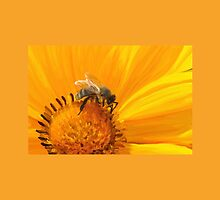 Bumblebee on a flower by Carrie Anthony