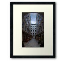 The Courtyard Framed Print