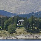 Kyle of Lochalsh, solitary house on the loch by BronReid