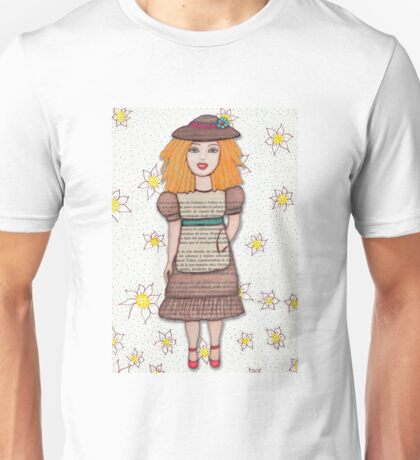 Gloria Doll to Length  Unisex T-Shirt