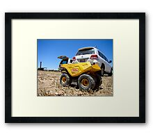 boys toys Framed Print