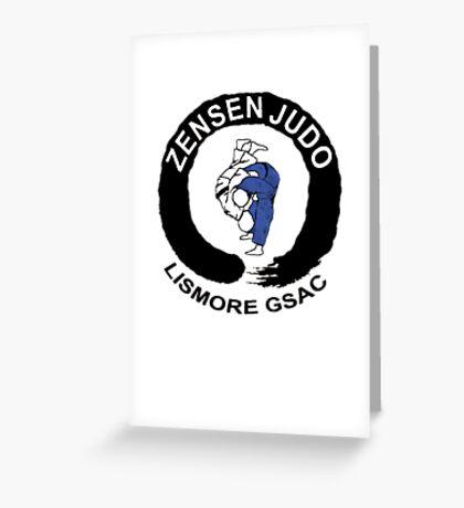 Lismore Zensen Judo Club Greeting Card