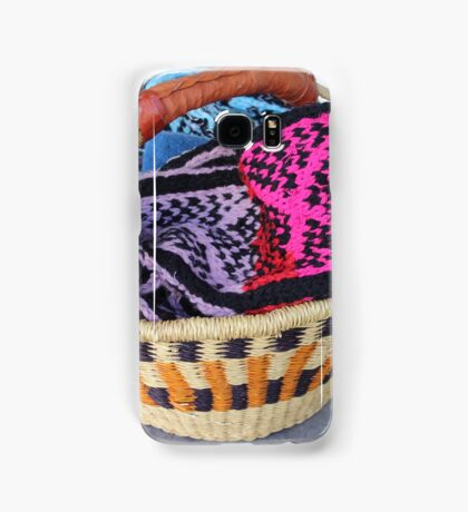 Basket of Knitted Things Samsung Galaxy Case/Skin