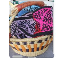 Basket of Knitted Things iPad Case/Skin