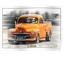 FJ Holden Pick Up, Australia Poster