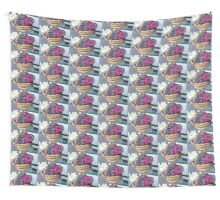 Basket of Knitted Things Wall Tapestry