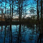 Blue Pool at Attingham by dave2k11