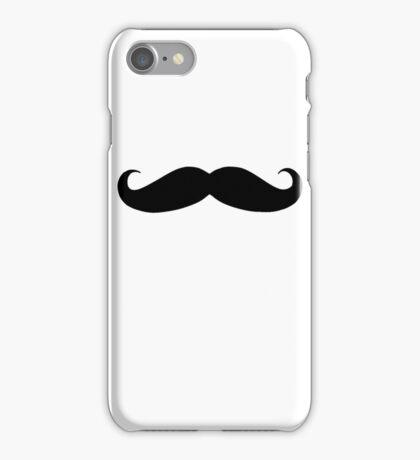 Ironic Moustache iPhone Case/Skin
