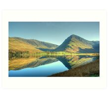 Buttermere in November Art Print