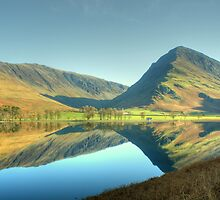 Buttermere in November by Jamie  Green