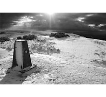 On Cleeve Hill Photographic Print