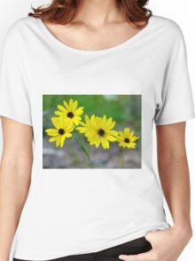 Beautiful Daisies Women's Relaxed Fit T-Shirt