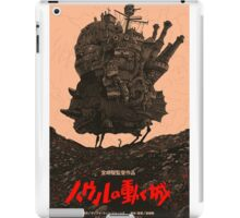 Howl's Moving Castle Original Poster iPad Case/Skin