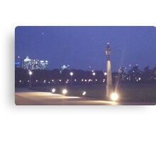 Greenwich Blue Canvas Print