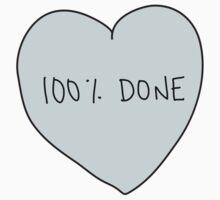 100% Done Heart by laurenschroer