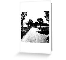 The road not taken... Greeting Card
