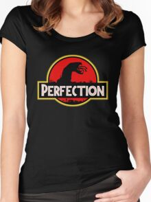 Perfection: Tremors Park Women's Fitted Scoop T-Shirt