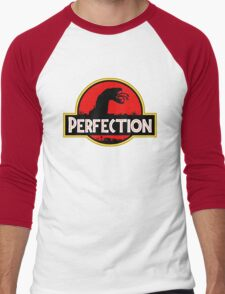 Perfection: Tremors Park Men's Baseball ¾ T-Shirt