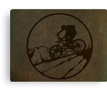 biking Canvas Print