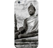 Ayutthaya Sitting Buddha 2.0 iPhone Case/Skin