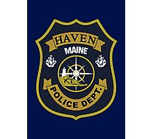 Haven Police Department Photographic Print