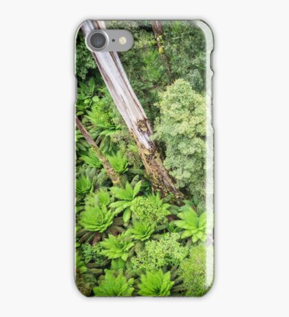 Forest from above iPhone Case/Skin